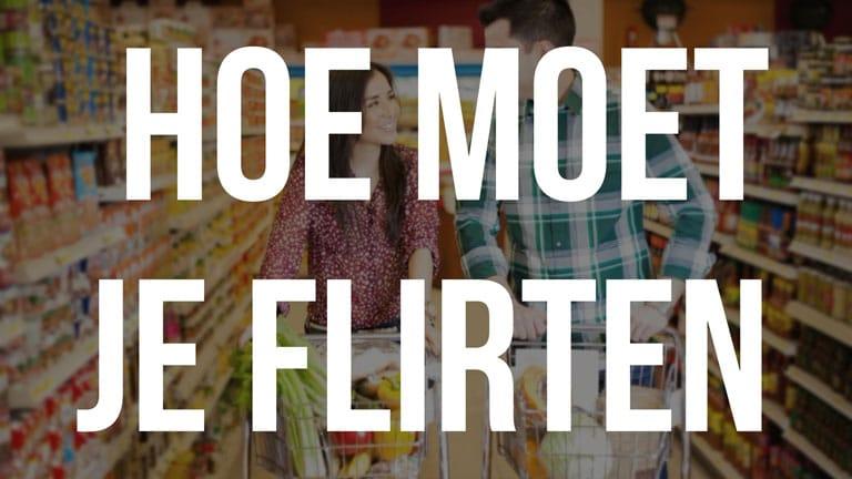 Auf Aufriss: Flirten im Supermarkt?